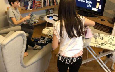 Jak zvládnout s dětmi domácí karanténu a nezbláznit se z toho